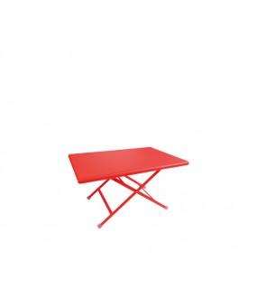 Tavolo basso pieghevole 50x70