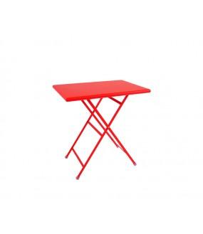 Tavolo rettangolare pieghevole 70x50