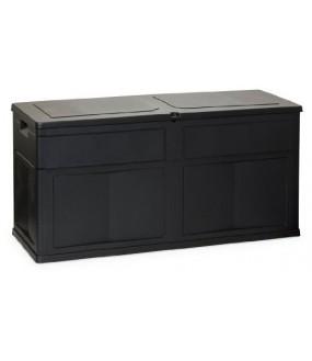 GARDEN BLACK 119X46XH60